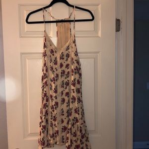 floral Hollister dress